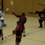 A match between the LCC Wolves an the Bundeswehr at the ISARBOX 2016