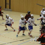 A game between the Bundeswehr and the LCC Wolves at the ISARBOX 2016