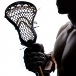 Naked Calendar Lacrosse 2014 Dresden Braves - Naked Laxer with lacrosse stick
