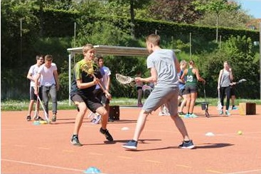 practice - lacrosse trail session in Würzburg