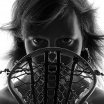 Naked Calendar Lacrosse 2014 Dresden Braves - Naked Lacrosse Girl with Lacrosse Stick