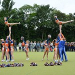 Deutsche Lacrosse Meisterschaft 2013 - Eagles Cheerleaders Choreographie