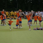 Deutsche Lacrosse Meisterschaft 2013 - Junior Cheerleaders beim Tanzen
