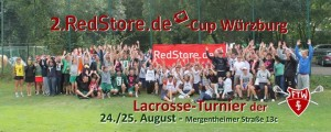 Lacrosse Tournament Red Store Lacrosse Cup Würzburg