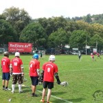 Redstore.de Lacrosse Tournament Würzburg Cup - 3 im Weggle Lax Players Observing the game
