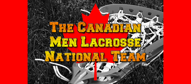 Canadian Men Lacrosse Natiohnal Team
