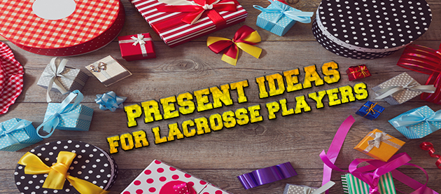 Banner for the present ideas for lacrosse players