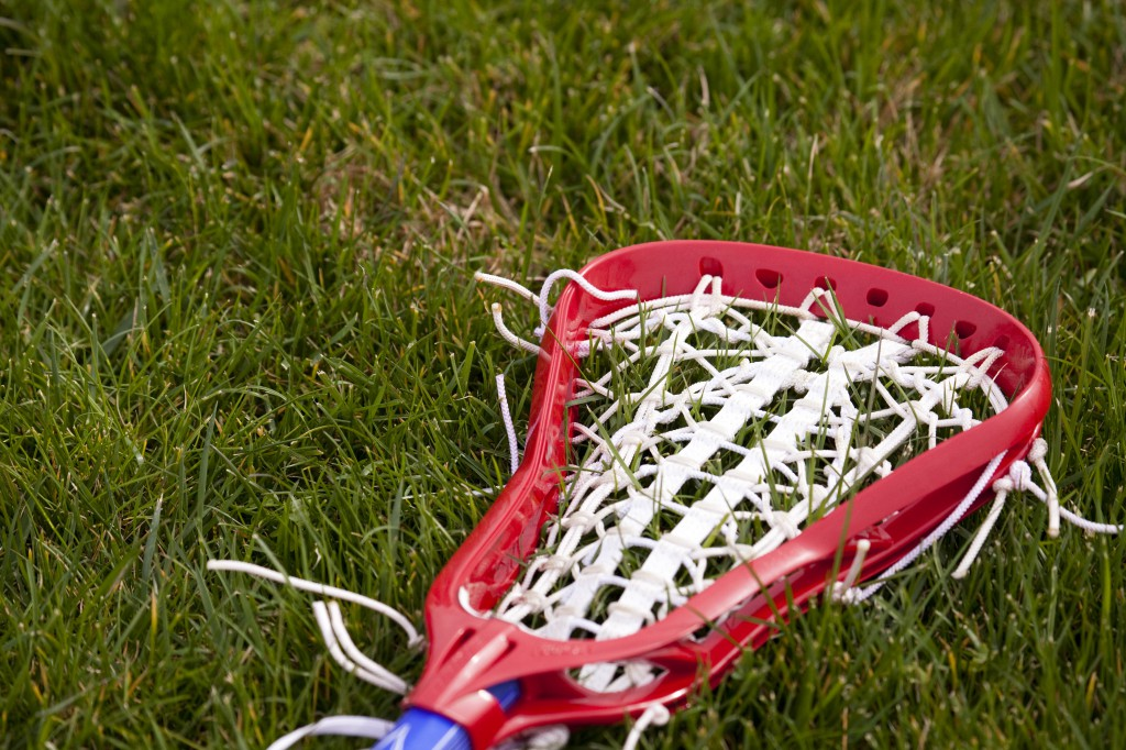 The flexibility and stiffness of  a lacrosse head